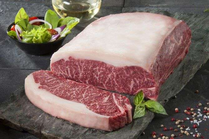 bife de chorizo corte de carne de res