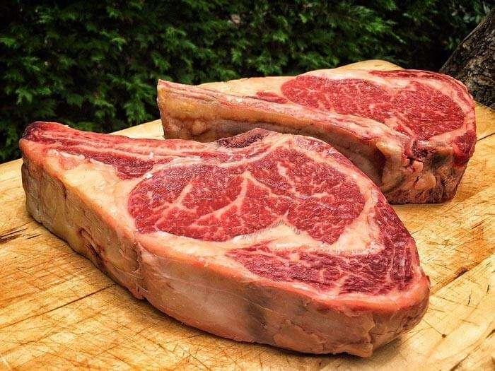 costillar corte de carne de res